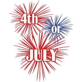July 4th Fireworks Tee