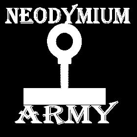 Neodymium Army White