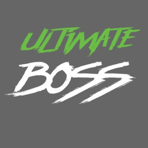 Ultimate Frisbee T-Shirt: Ultimate Boss - Dark
