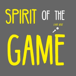 Ultimate Frisbee T-Shirt: Spirit of the Game