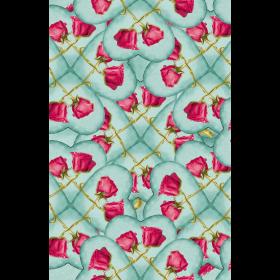 Love Motif Pattern Print