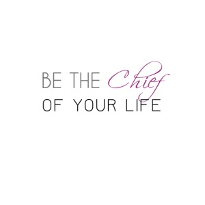 Be_the_Chief_of_your_life-_Black_Version