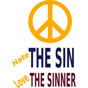 Hate the Sin