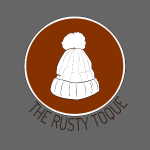 The Rusty Toque Brown Logo with Black Text