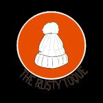 The Rusty Toque Dark Orange Logo with Black Text