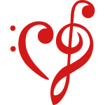 heart - clef