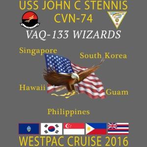 STENNIS VAQ133 2016 CRUISE png