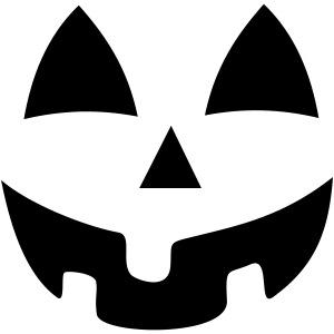 Jack-O-Lantern Pumpkin Face - Halloween Costume