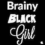Brainy Black Girl T-shirt