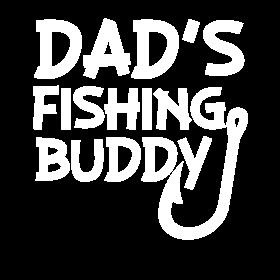 Dad's Fishing Buddy baby boy shirt