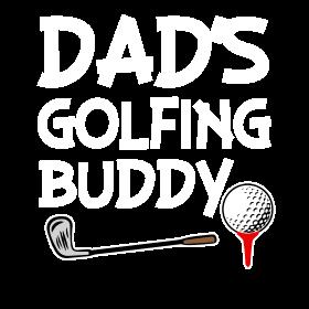 Dad's Golfing Buddy baby boy shirt