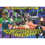 THK - Meowgeddaboudit! - Poster - T-Shirt 4000px C