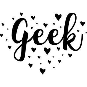cute geek heart