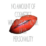 cosmetics and lips