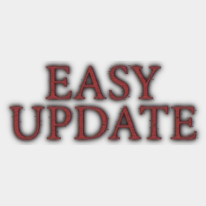 Easy Update Logo Red