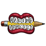 Raging Pencils logo t-shirt