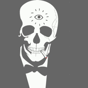 Skull Party Host png