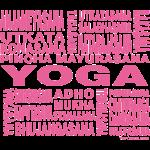 Yoga Terminology pink TC