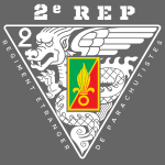 2e REP - Foreign Legion - Badge