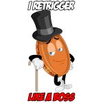 THE RETRIGGER PENNY WITH TEXT