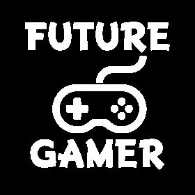 Future Gamer funny baby boy shirt
