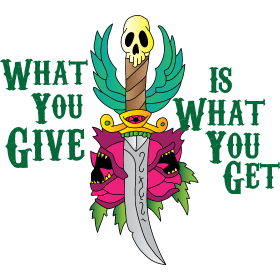 what you give 3