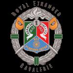 1er REC - Foreign Legion - Badge - Dark