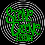 Stone Groove Records - Spiral Green Logo (button)