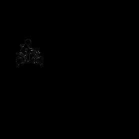 Coexist Car Bicycle Motor