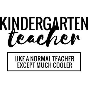 Cool Kindergarten Teacher Funny Teacher T-Shirt