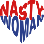 Nasty Woman Heart T-shirt