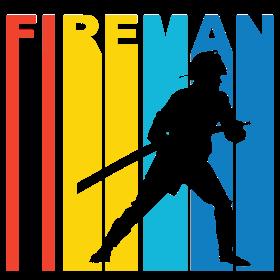 Retro Fireman