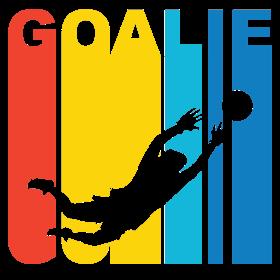Retro Soccer Goalie