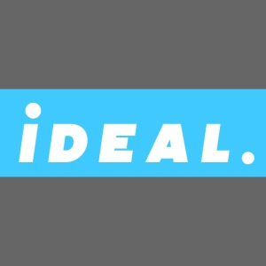 rare ideal blue logo