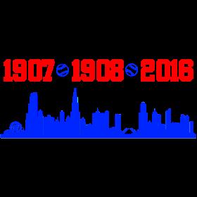 cubs chicago skyline