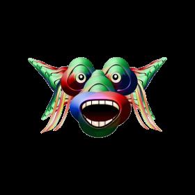 Futuristic Funny Monster