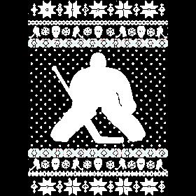 Ugly Hockey Xmas Sweater