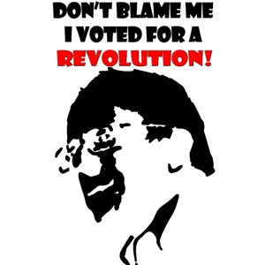 Don't Blame Me I Voted For A Revolution iPhone Cas