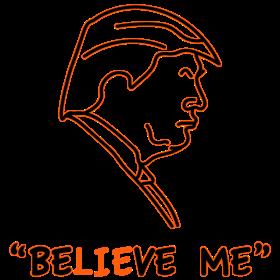 Trump Believe Me Black