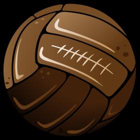 Old Soccer Football Ball