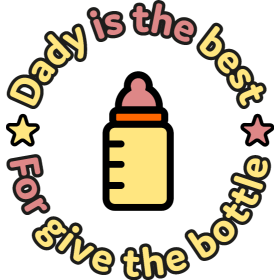 Dady is the Best for Baby