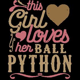 This Girl Loves Her Ball Python Snake Reptile