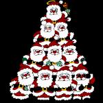 Tree of Santas