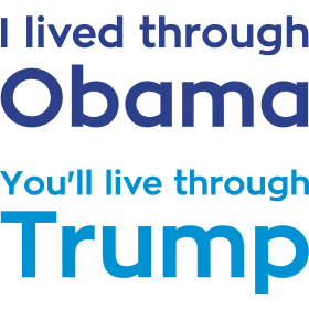 I lived through Obama