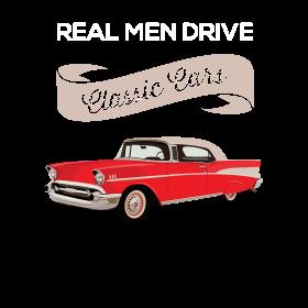 Real men drive classic cars