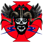 Viking rebel skull