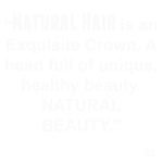 Natural Hair Quote Tee