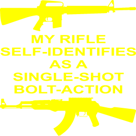 My Rifle Self Identifies As A Single Shot Bolt Act
