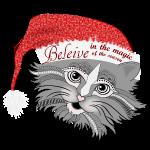 Christmas Cat South Seas