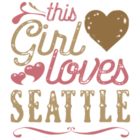 This Girl Loves Seattle - Seattle Gift